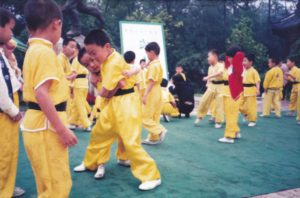 A picture of Jerry in China as a kid